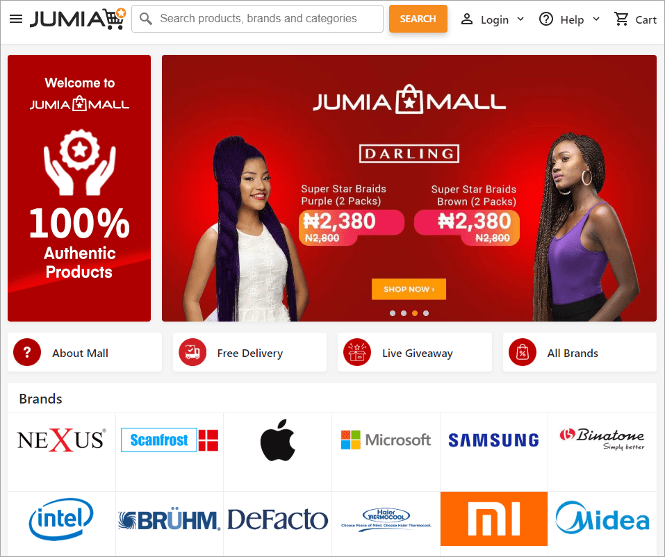 Extracting data from Jumia.com.ng and importing it to WooCommerce