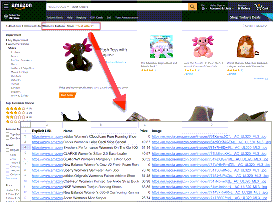 Amazon Scraping Tool – How to Extract Product listings To Analyze Competition