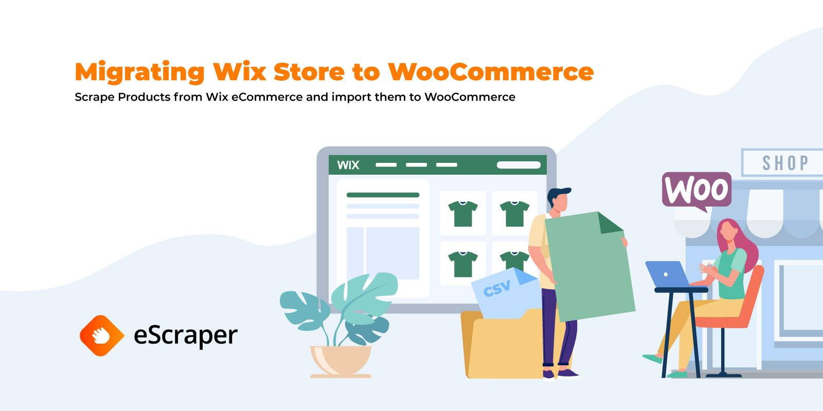Migrating from a Wix Store to WooCommerce