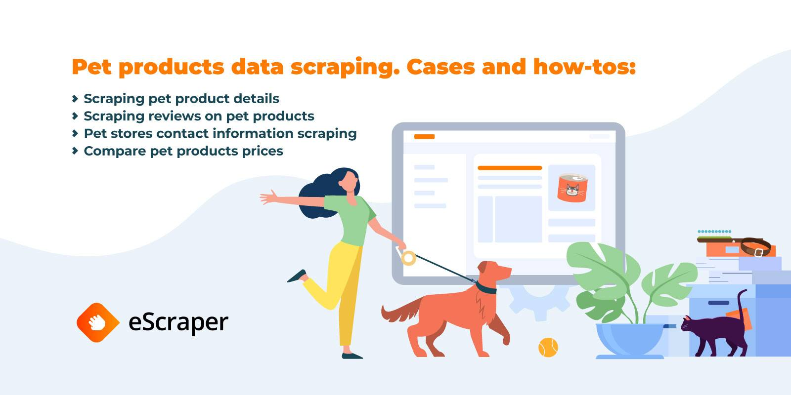 Pet products data scraping: cases and how-tos